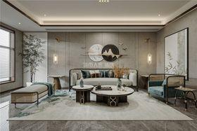 140平米复式新古典风格客厅图