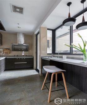 90平米三室一厅现代简约风格厨房装修效果图