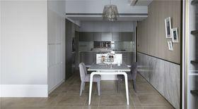 140平米三室两厅现代简约风格餐厅效果图