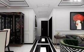 80平米混搭风格走廊吊顶装修图片大全