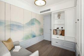 140平米三室兩廳美式風格臥室圖