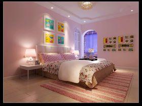 富裕型140平米复式现代简约风格儿童房效果图