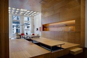 120平米复式现代简约风格卧室欣赏图