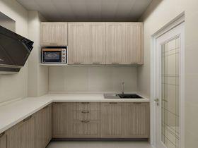 110平米三室一厅现代简约风格厨房装修案例