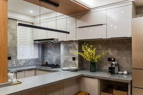 60平米现代简约风格厨房装修案例