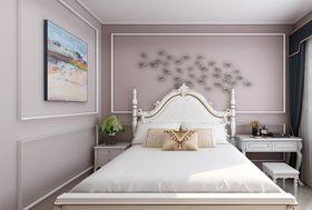 80平米三美式风格卧室图