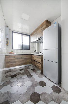 80平米現代簡約風格廚房裝修圖片大全