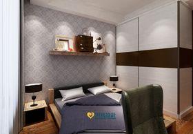 富裕型130平米三室两厅中式风格儿童房图片