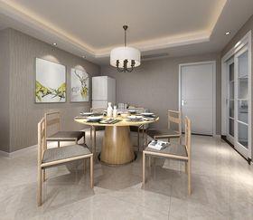 10-15万130平米四室两厅现代简约风格餐厅装修图片大全