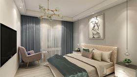 70平米公寓北欧风格卧室设计图