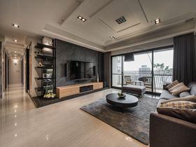 100平米三室一廳日式風格客廳圖片大全