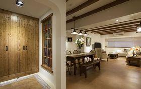 富裕型140平米三室两厅地中海风格玄关图片
