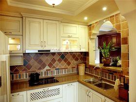 豪华型110平米三室两厅美式风格厨房图