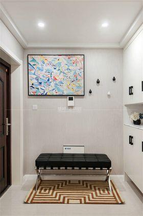 90平米三室一廳現代簡約風格玄關圖片