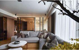 富裕型130平米三室两厅现代简约风格影音室装修案例