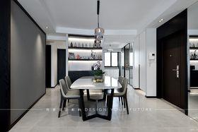 富裕型140平米三室两厅现代简约风格餐厅图