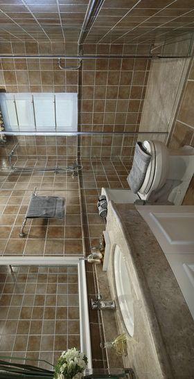 110平米三室两厅现代简约风格卫生间图片