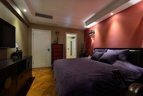 富裕型140平米三室三厅中式风格卧室装修案例
