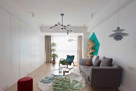 110平米三室两厅北欧风格客厅图片大全