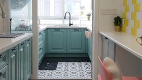 经济型90平米混搭风格厨房设计图