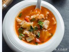 锡伯新疆餐厅(丰盛里店)的汤面片