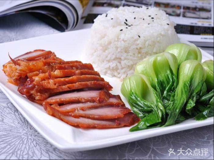 蔡记正宗隆江猪脚饭(皇岗店)叉烧饭图片