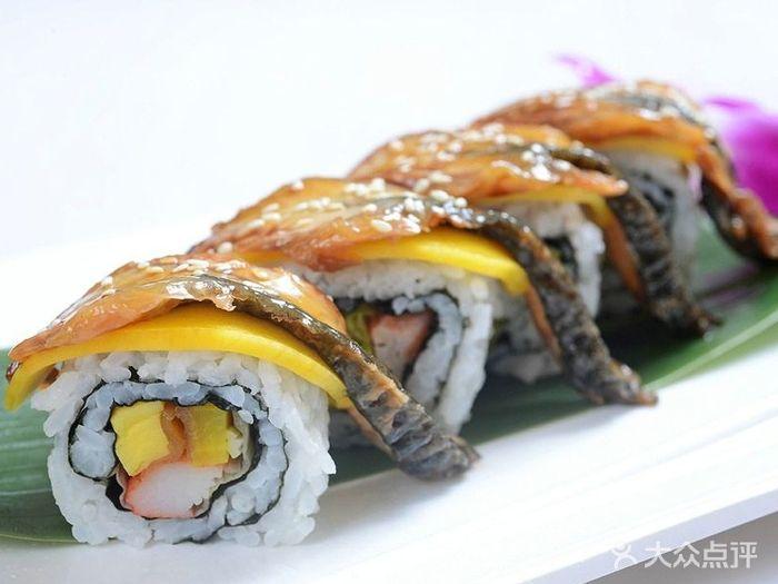 高田日本料理香芒鳗鱼加州卷图片图片