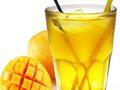 芒果鲜果茶