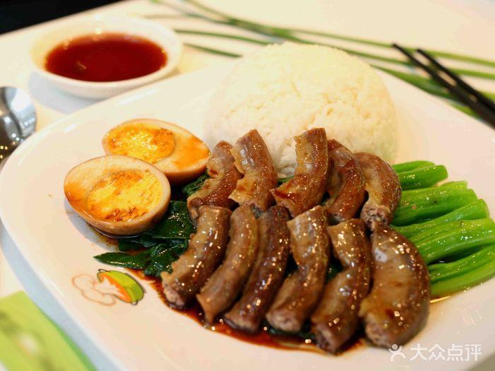 来记隆江猪脚饭粉肠饭 豆腐干(中)图片