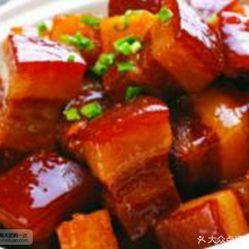 渣渣肥肠(榆次坪店)的秘制红烧肉套饭好不好吃杨家古船面粉厂图片