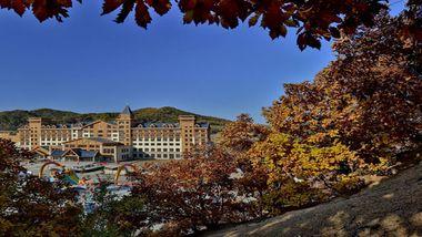 【哈尔滨等】哈尔滨英杰温泉酒店1晚+双早+双人寒地温泉门票-美团