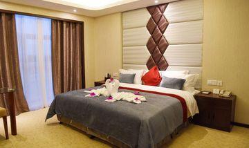 【上海等】上海萨维尔金爵·鹿安酒店1晚+双人上海迪斯尼1日门票+双早-美团