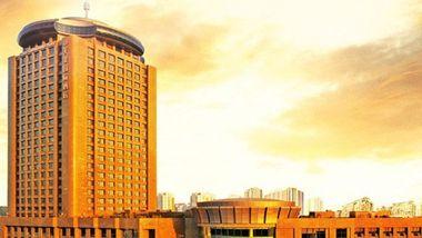 【芜湖等】芜湖天泰国际酒店1晚+双人/1大1小/2大1小海洋公园+双早-美团