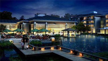【杭州等】桐庐海博大酒店1晚+双早+双人瑶琳仙境等多景点可选-美团