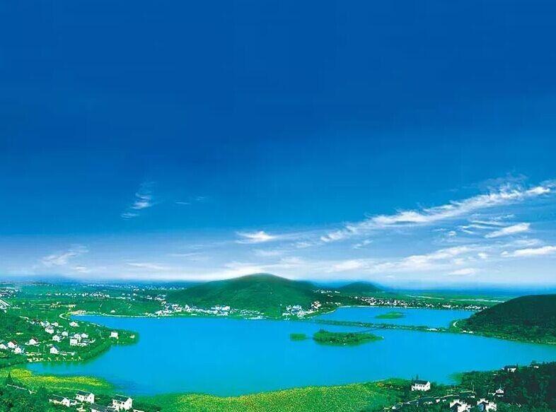 海盐杭州湾国际酒店1晚 双人南北湖风景区成人票 双早