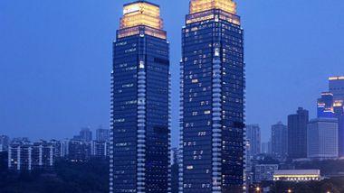 【重庆等】重庆丽笙世嘉酒店1晚+双人海棠晓月温泉票门票-美团