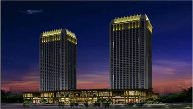 【中山等】中山利和希尔顿酒店1晚+双人豪华中西自助早餐+双人酒店海鲜自助晚餐-美团