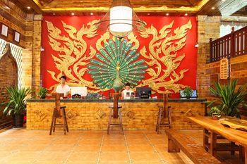 【西双版纳等】西双版纳楠木啰娜酒店1晚+双早+双人勐泐大佛寺门票-美团