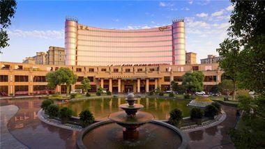 【上海等】上海皇廷国际大酒店1晚+双早+双人豪华自助晚餐-美团