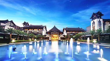 【清远等】清远熹乐谷温泉度假酒店1晚+双人温泉门票+双人早餐-美团