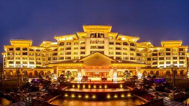 【宜春等】宜春明月山维景酒店1晚+双人维景温泉+双人早餐-美团