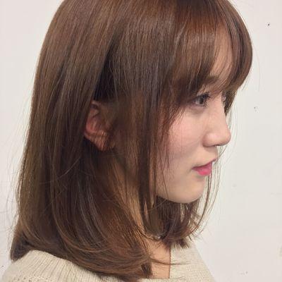 染发+剪发效果图