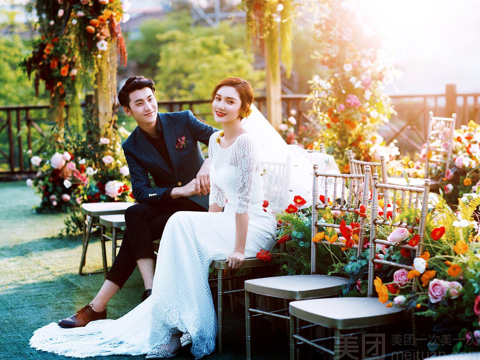 :长沙今日团购:【大视觉婚纱摄影】【11·11狂欢节】限时大促婚纱照