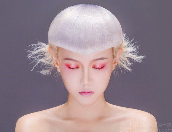 :长沙今日团购:【品格美学】优选烫发或染发二选一