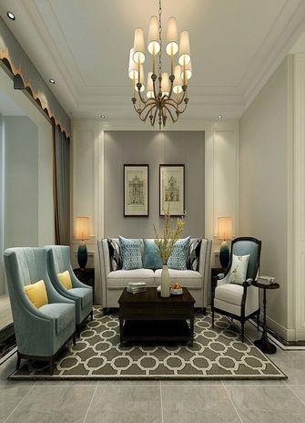 140平米四室两厅美式风格客厅图