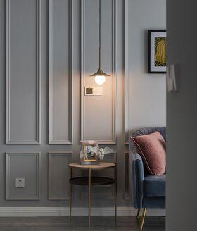 經濟型70平米三室兩廳現代簡約風格客廳裝修案例
