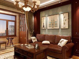 90平米法式风格客厅装修案例