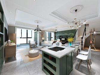 140平米三室两厅英伦风格餐厅效果图
