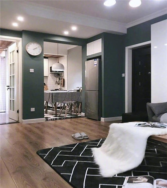 60平米一室两厅混搭风格厨房设计图
