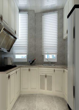 140平米四室两厅美式风格厨房欣赏图